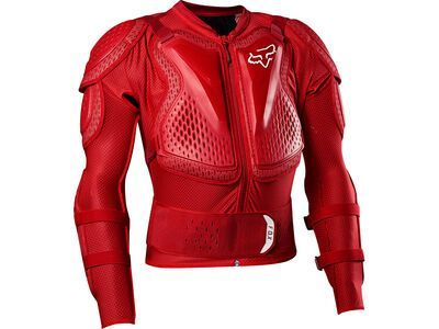 Fox Titan Sport Jacket, flame red - Protektorenjacke