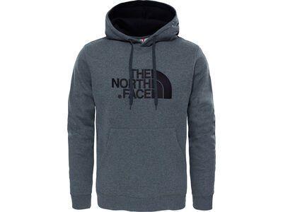 The North Face Men's Drew Peak Pullover Hoodie medium grey heather/tnf black