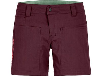 Ortovox Merino Shield Vintage Engadin Shorts W, dark wine