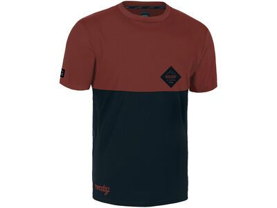 Rocday Double Jersey red/navy