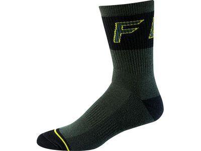 Fox 8 Winter Wool Sock, emerald - Radsocken