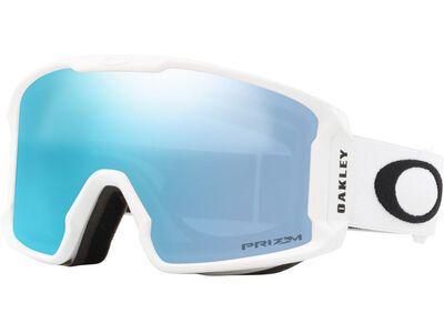 Oakley Line Miner XM Prizm, matte white/Lens: sapphire iridium - Skibrille