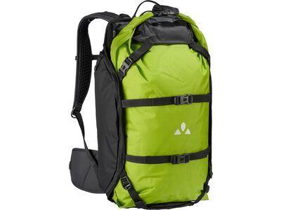 Vaude Trailpack, black/green - Fahrradrucksack