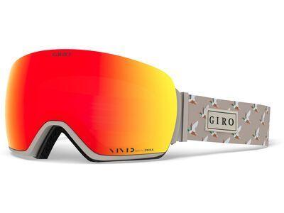 Giro Article inkl. WS, duck/Lens: vivid ember - Skibrille