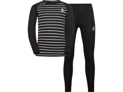 Odlo Active Warm Eco Kids Baselayer Set, black/grey