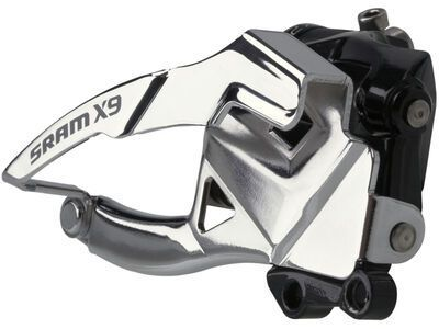 SRAM X9 Umwerfer - 2x10, Low Direct-Mount, Top-Pull