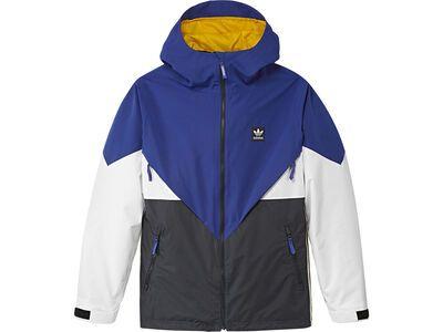 Adidas Premiere Riding Jacket, blue/carbon/cream white - Snowboardjacke