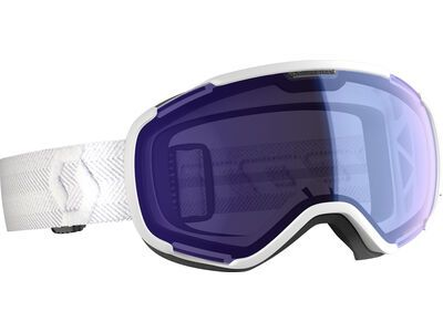Scott Faze II Goggle, white/Lens: illum blue chrome - Skibrille