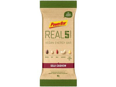 PowerBar Real5 Vegan Energy Bar - Goji Cashew