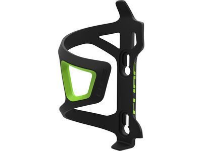 Cube Flaschenhalter HPP-Sidecage black'n'green