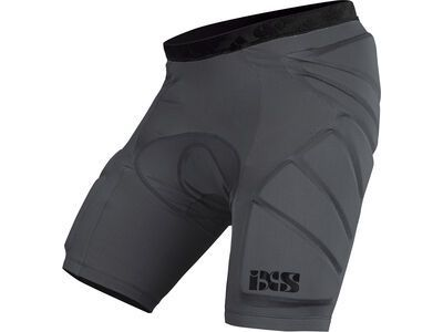 IXS Hack Shorts Lower Body Protective Kids, grey - Protektorhose