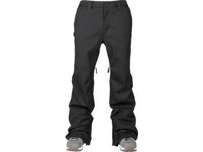 Nitro L1 Slim Chino Pants, black - Snowboardhose