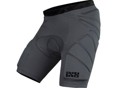 IXS Hack Shorts Lower Body Protective, grey - Protektorhose