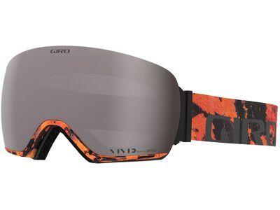 Giro Article inkl. WS, lava/Lens: vivid onyx - Skibrille
