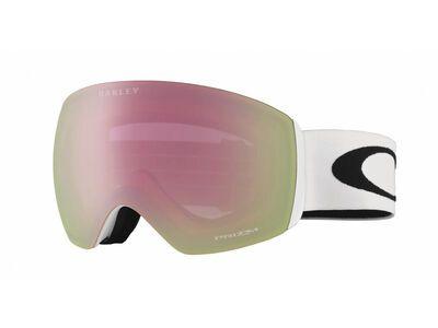 Oakley Flight Deck XM Prizm, matte white/Lens: hi pink iridium - Skibrille
