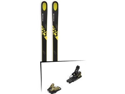 Set: Kästle FX85 HP 2019 + Salomon STH2 WTR 16 gold/black