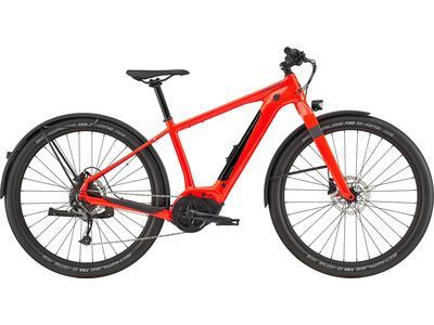 Cannondale Canvas Neo 2 2020, acid red - E-Bike