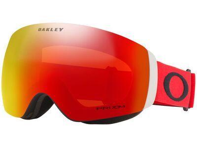 Oakley Flight Deck XM Prizm, red black/Lens: torch iridium - Skibrille