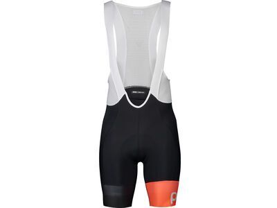 POC Essential Road VPD's Bib Shorts uranium black/hydrogen white