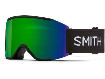 Smith Squad Mag inkl. WS, black/Lens: cp sun green mir - Skibrille