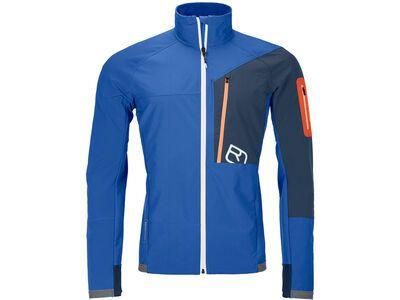 Ortovox Merino Airsolation Berrino Jacket M, just blue - Softshelljacke