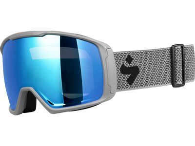 Sweet Protection Clockwork MAX RIG Reflect, nardo gray/Lens: RIG aquamarine - Skibrille