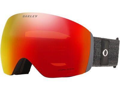 Oakley Flight Deck XL Prizm, heathered black grey/Lens: torch iridium - Skibrille
