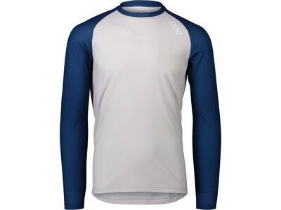 POC MTB Pure LS Jersey lead blue/granite grey