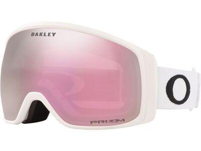 Oakley Flight Tracker XM - Prizm Hi Pink Iridium, matte white/Lens: hi pink iridium