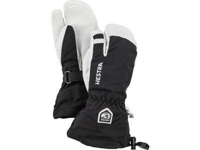 Hestra Army Leather Heli Ski Jr. 3 Finger, black - Skihandschuhe