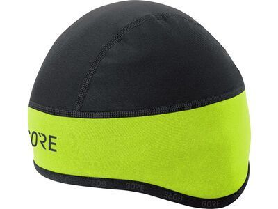 Gore Wear C3 Gore Windstopper Helmet Kappe, neon yellow/black - Radmütze