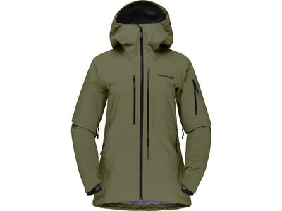 Norrona lofoten Gore-Tex Pro Jacket W's olive night