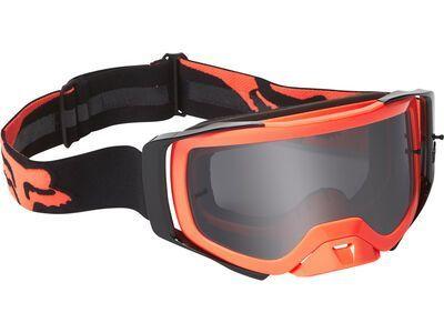 Fox Airspace Mirer Goggle - Dark Grey fluorescent orange