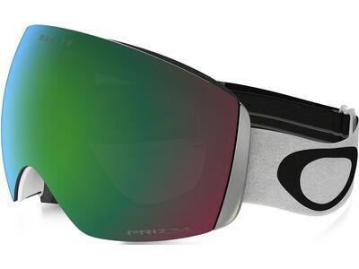 Oakley Flight Deck Prizm, matte white/Lens: jade iridium - Skibrille