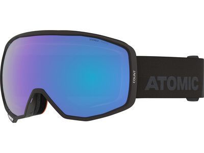 Atomic Count Photo, black/Lens: blue photo - Skibrille