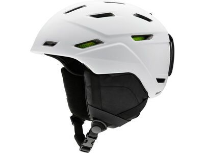 Smith Mission, matte white - Snowboardhelm