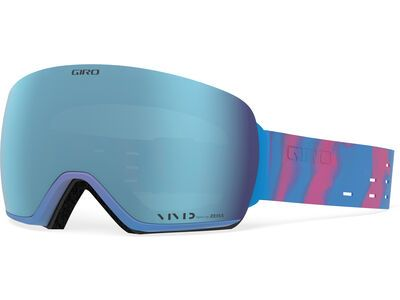 Giro Article inkl. WS, silicone vivid/Lens: vivid royal - Skibrille