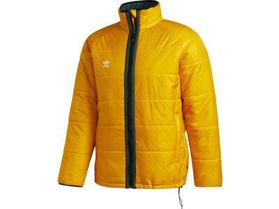 Adidas Midlayer Jacket, gold/green/white - Thermojacke