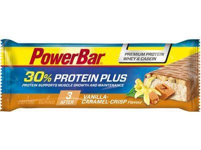 PowerBar Protein Plus 30% - Vanilla-Caramel-Crisp - Proteinriegel