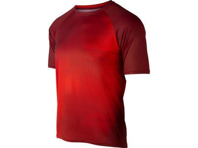 Specialized Enduro Air Shortsleeve Jersey, crimson/rocket red - Radtrikot