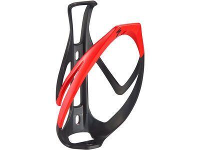 Specialized Rib Cage II, matte black/flo red - Flaschenhalter