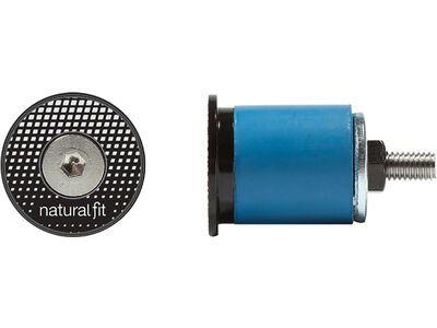 Cube Natural Fit Sicherheitslenkerstopfen 18 mm black