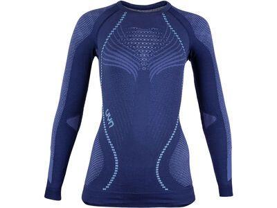 UYN Ambityon Shirt Lady, blue/white - Unterhemd