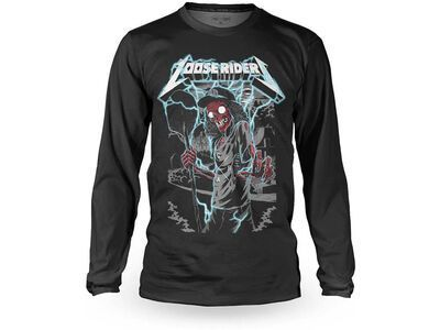 Loose Riders Cult of Shred Jersey LS Digger black