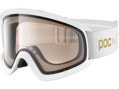 POC Ora Clarity Fabio Wibmer Ed. hydrogen white//Lens: gold