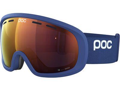 POC Fovea Mid Clarity Spektris Orange lead blue