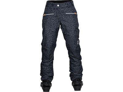 WearColour Cork Pant, black leo - Snowboardhose