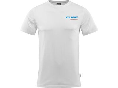 Cube Organic T-Shirt Landscape, white