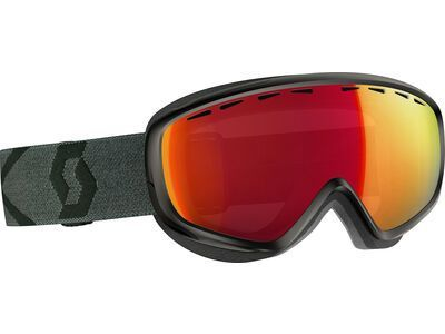 Scott Dana, black/grey/Lens: ampli red chr - Skibrille