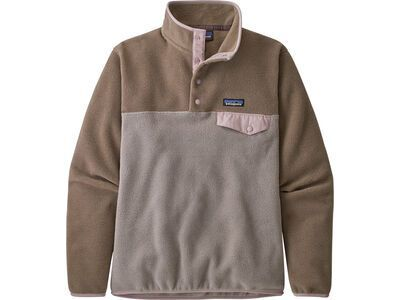 Patagonia Women's Lightweight Synchilla Snap-T furry taupe